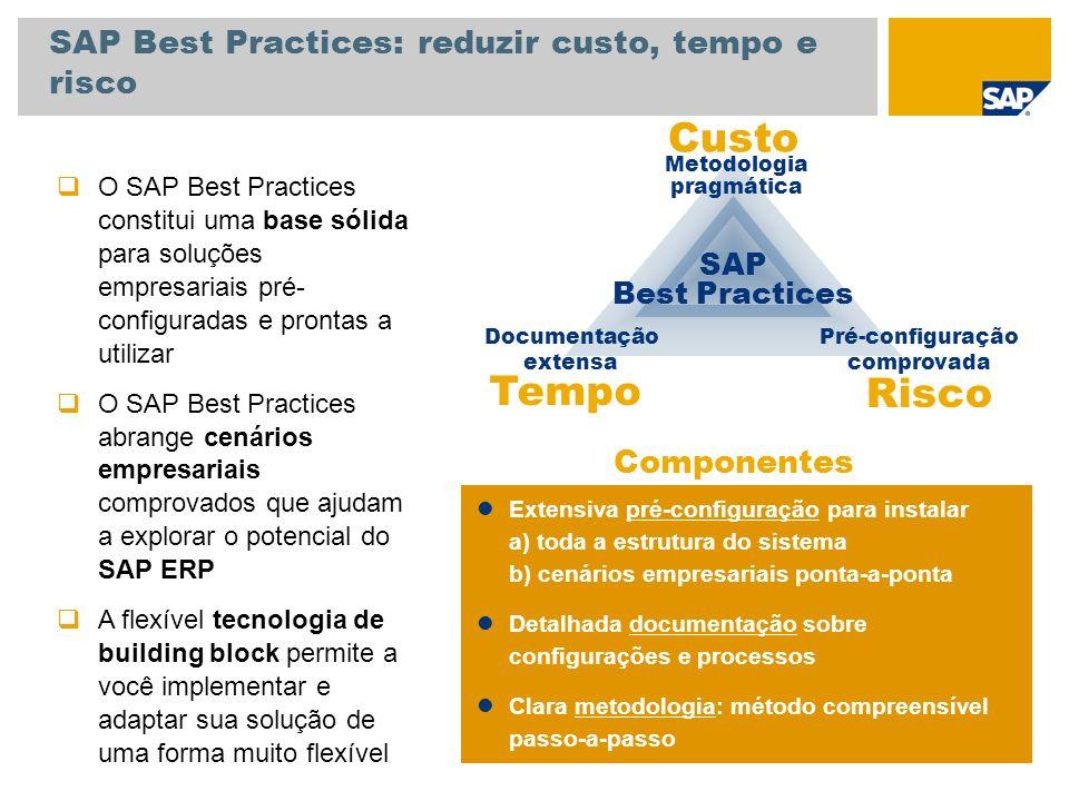 SAP Best Practices: reduzir custo, tempo e risco