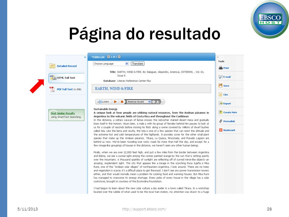 Página do resultado 23/03/2017 http://support.ebsco.com/