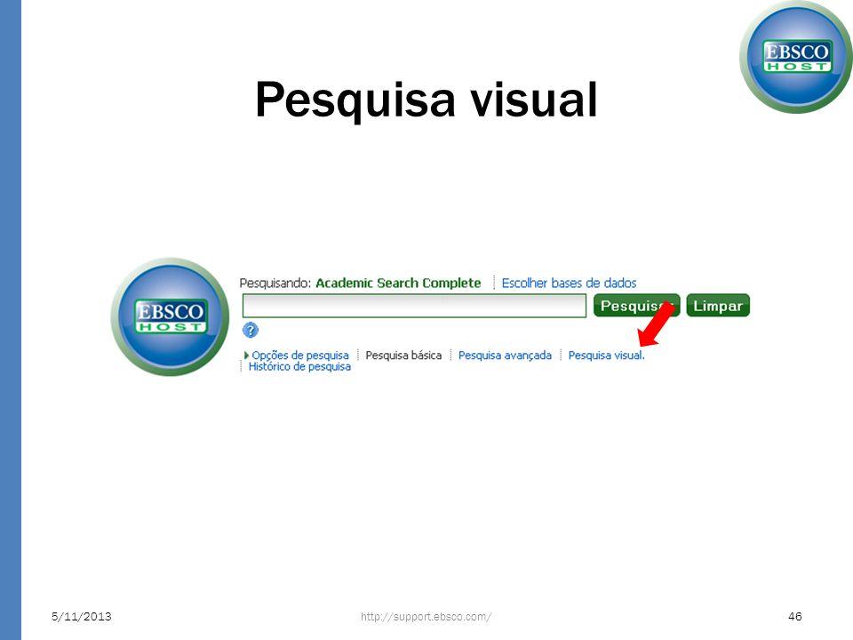 Pesquisa visual 23/03/2017 http://support.ebsco.com/