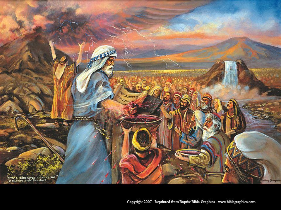 A Aliança Mosaíca ratificada publicamente pelo sangue, Ex 19-24