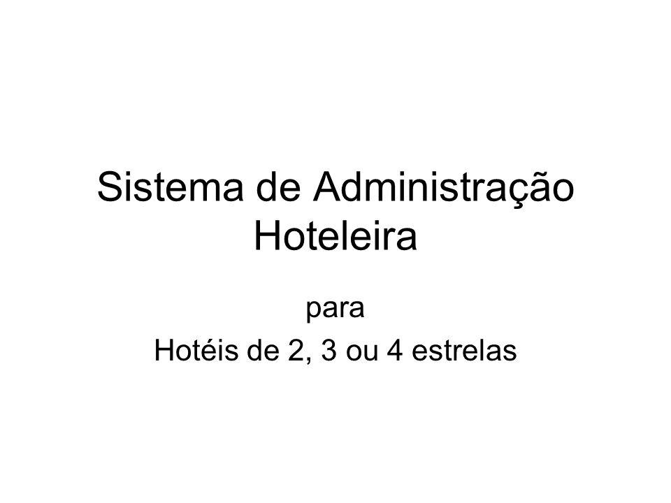 Sistema de Administração Hoteleira