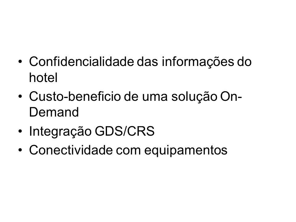 Confidencialidade das informações do hotel