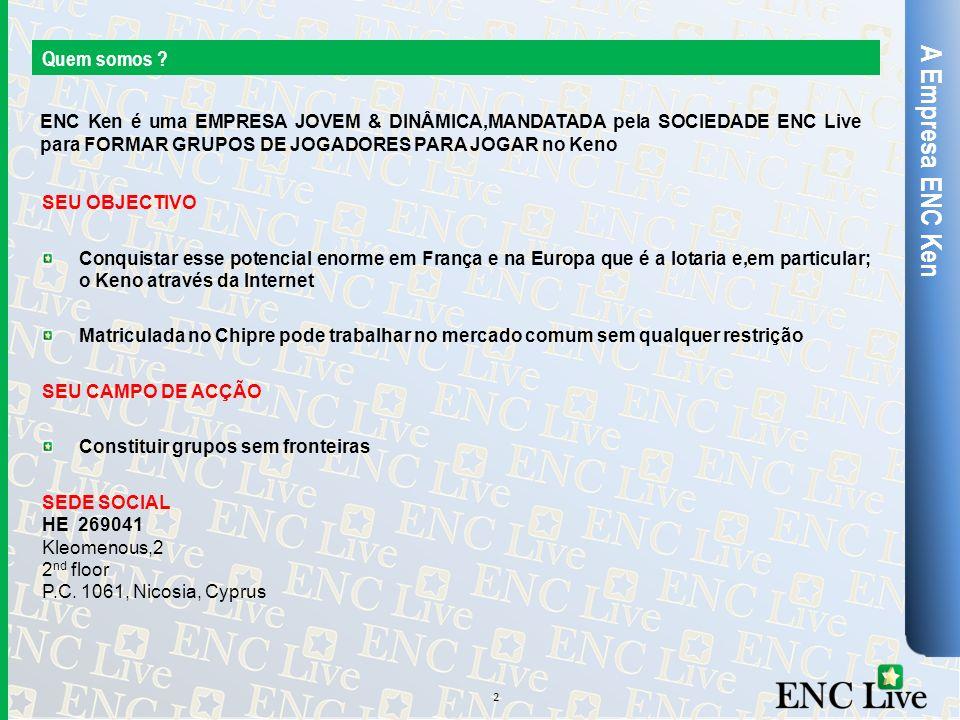 A Empresa ENC Ken Quem somos