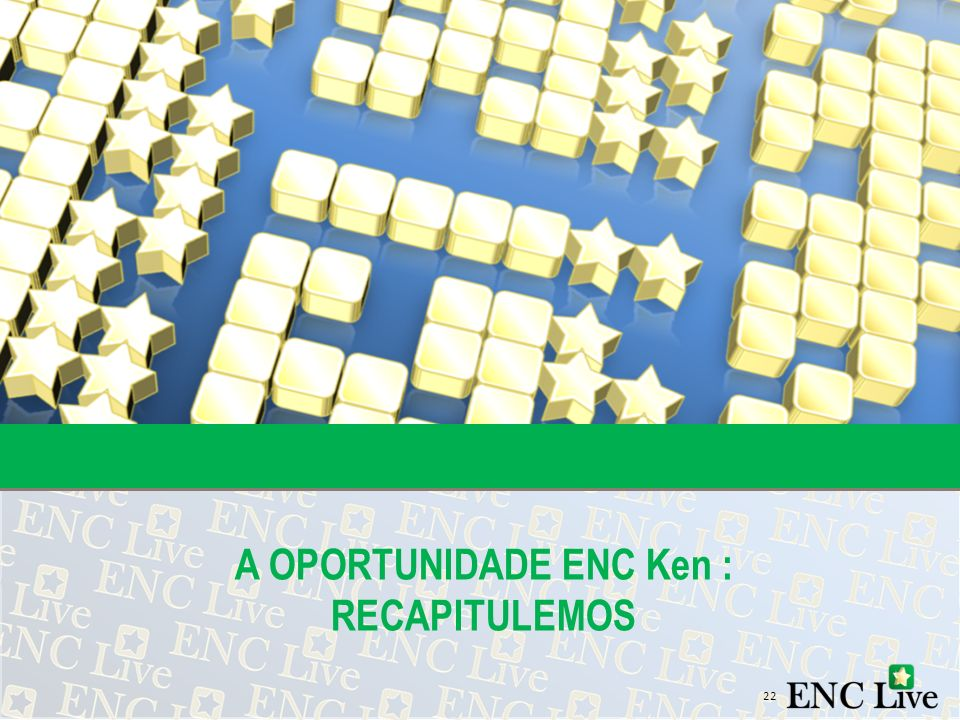 A OPORTUNIDADE ENC Ken : RECAPITULEMOS