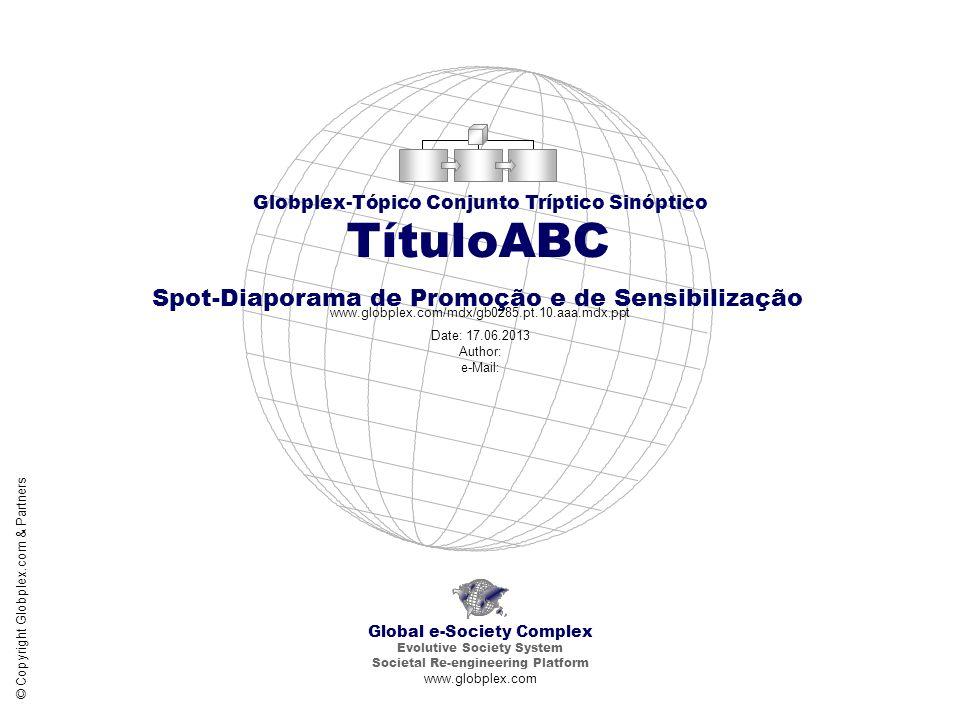TítuloABC Spot-Diaporama de Promoção e de Sensibilização