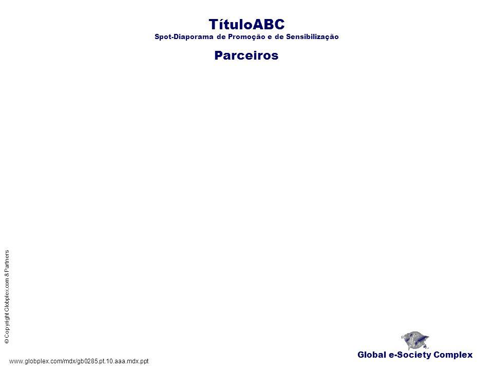 TítuloABC Spot-Diaporama de Promoção e de Sensibilização Parceiros