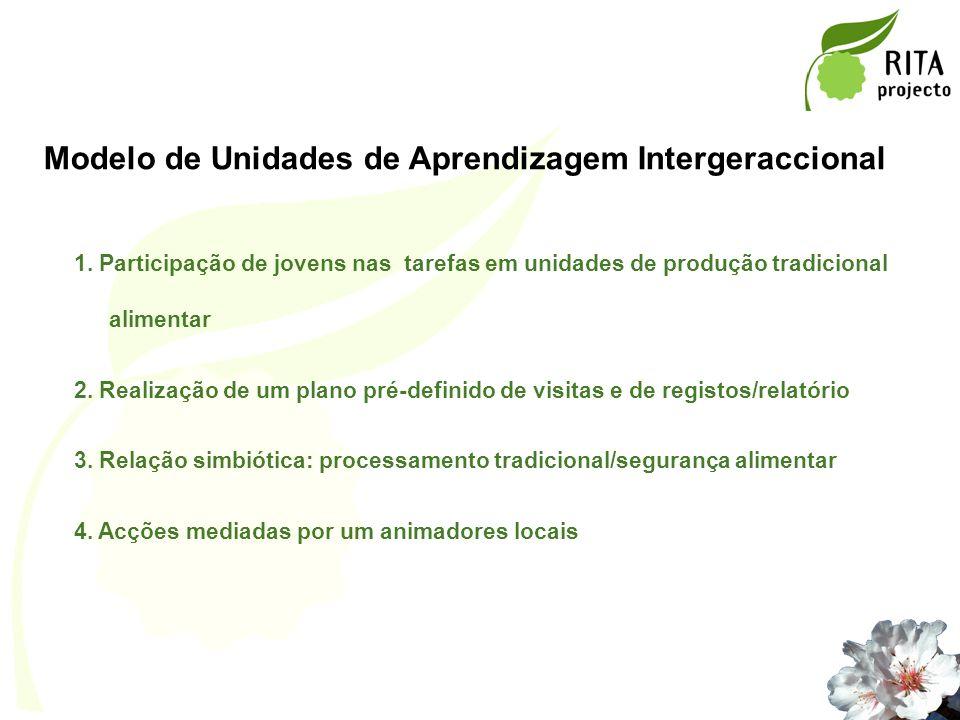 Modelo de Unidades de Aprendizagem Intergeraccional