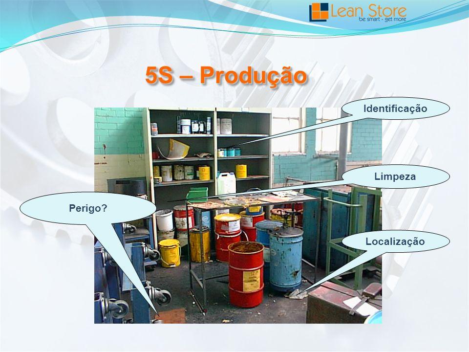 5S – Produção Identificação Limpeza Perigo Localização