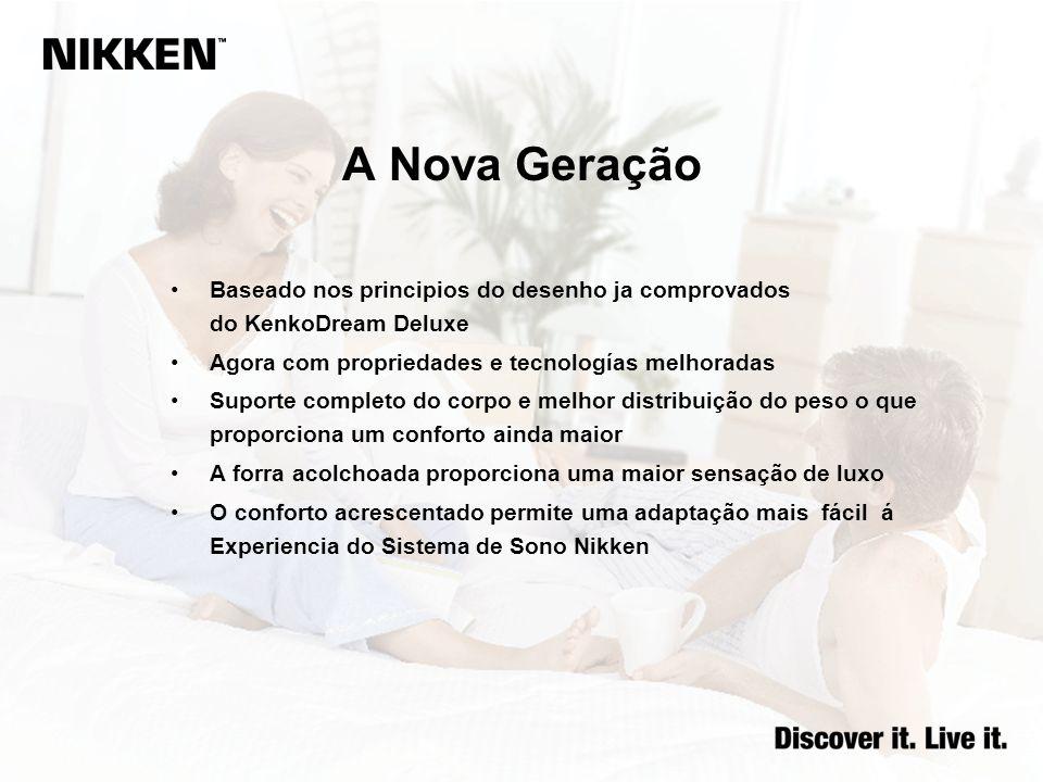 A Nova Geração Baseado nos principios do desenho ja comprovados do KenkoDream Deluxe. Agora com propriedades e tecnologías melhoradas.