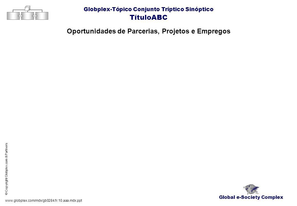 Oportunidades de Parcerias, Projetos e Empregos