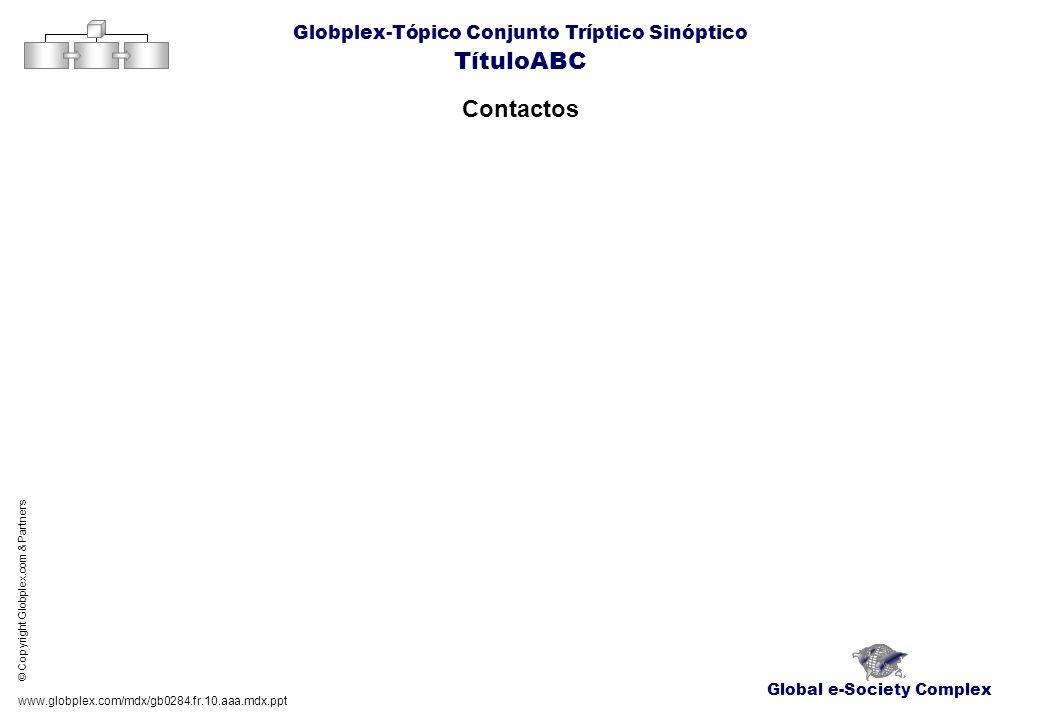 TítuloABC Contactos Globplex-Tópico Conjunto Tríptico Sinóptico
