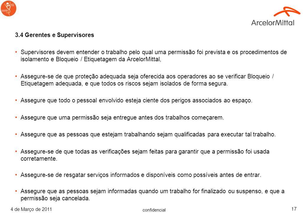 3.4 Gerentes e Supervisores