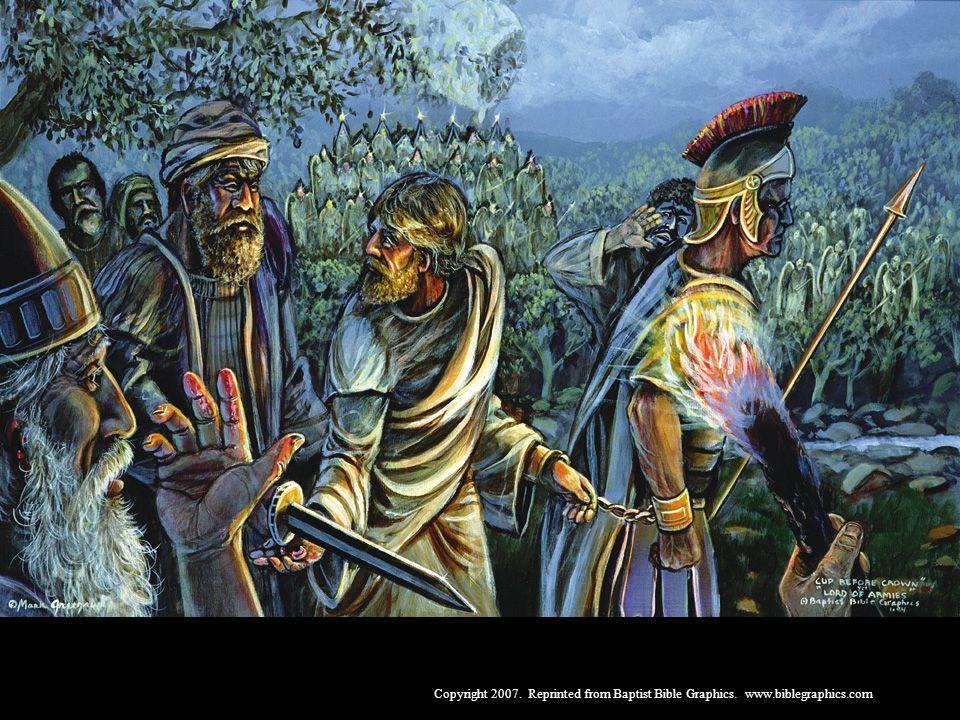 De cálice de dores, à coroa de majestade, 26:1-56