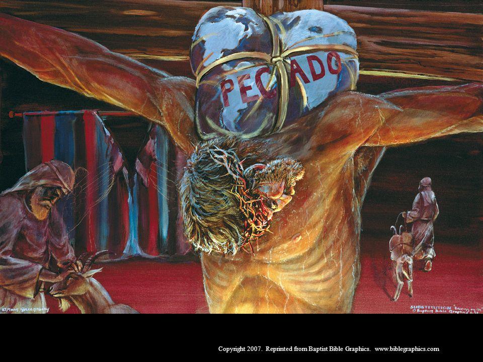 De ter os pecados levados repetidamente por um cordeiro vivo, a ter os pecados levados de uma vez por todas pela morte de nosso Salvador, 27:45-66. Cristo, de uma vez para sempre, levou nosso pecado e pagou nossa dívida para todo o sempre.