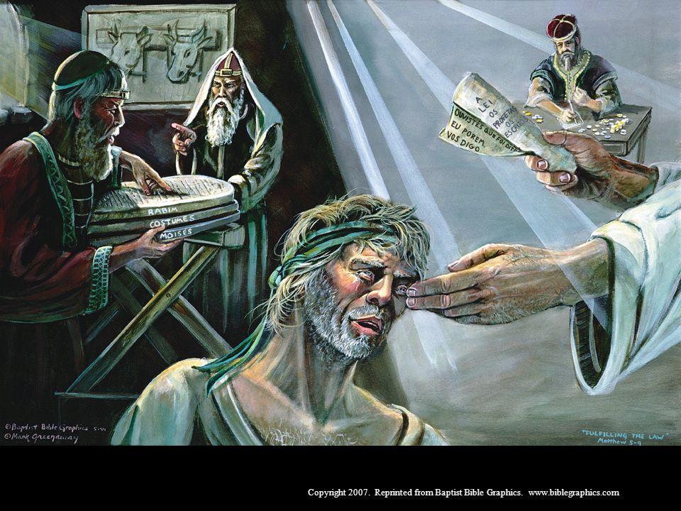 Da escuridão dos homens, à luz de Cristo, 5:1-9:35
