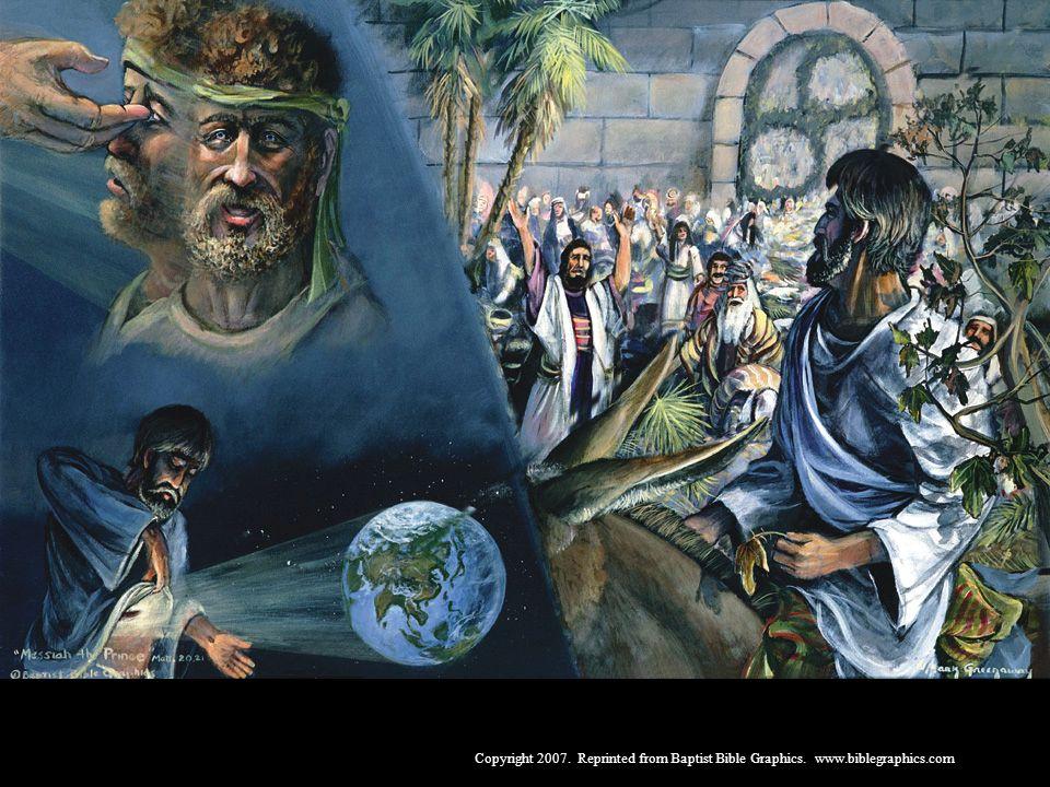 De resgate por muitos, à realeza como rei, 20:17-21:22
