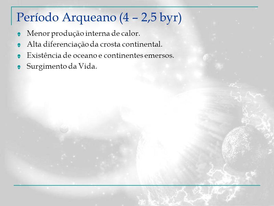 Período Arqueano (4 – 2,5 byr)