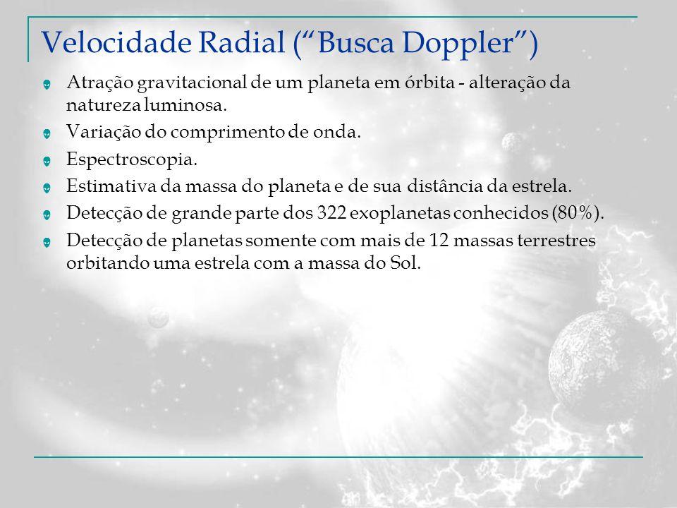Velocidade Radial ( Busca Doppler )