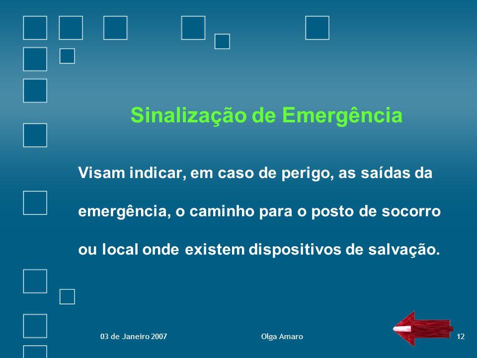 Sinalização de Emergência