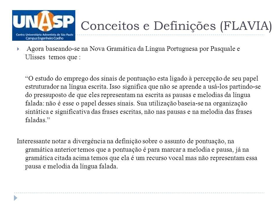 Conceitos e Definições (FLAVIA)