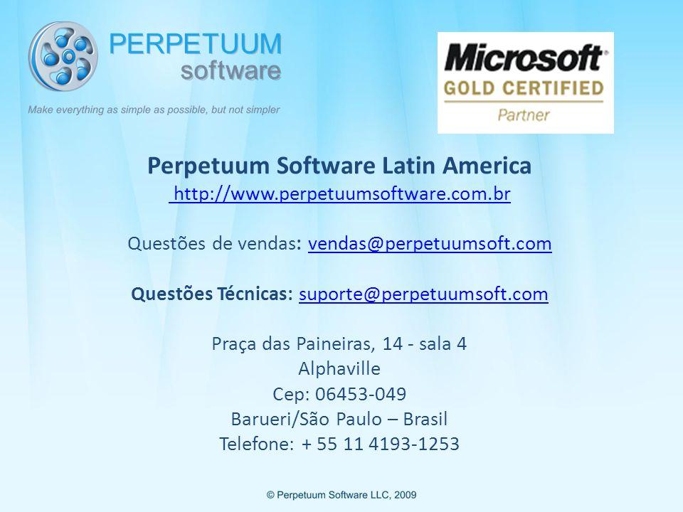 Perpetuum Software Latin America http://www. perpetuumsoftware. com