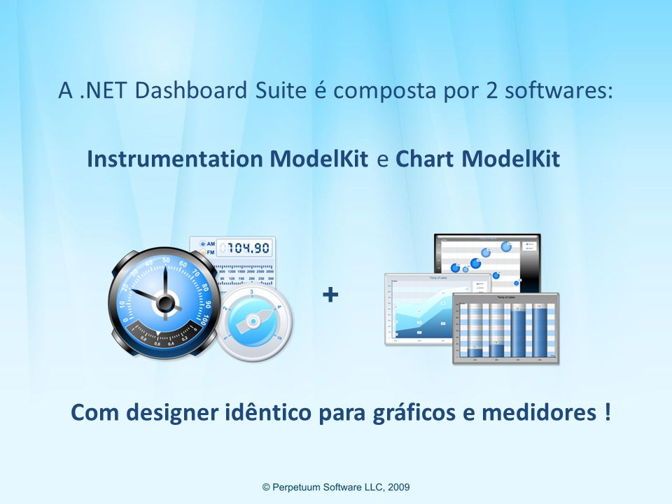 A .NET Dashboard Suite é composta por 2 softwares: