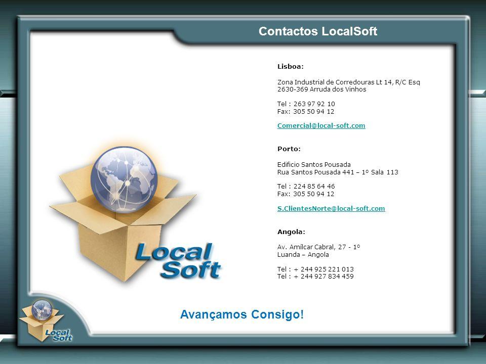 Contactos LocalSoft Avançamos Consigo!