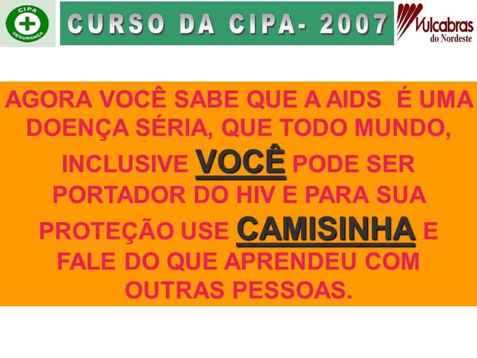 CURSO DA CIPA- 2007