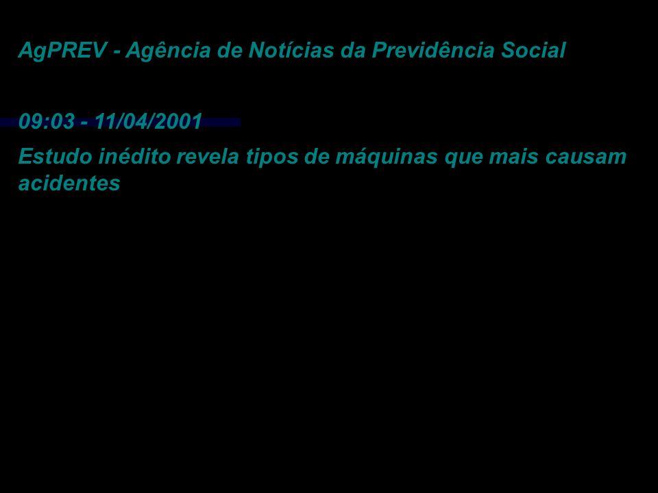 AgPREV - Agência de Notícias da Previdência Social
