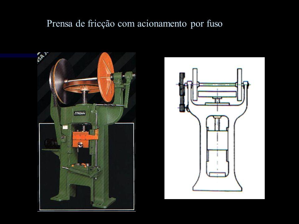 Prensa de fricção com acionamento por fuso