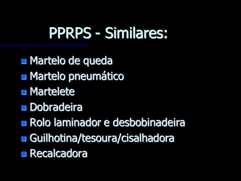 PPRPS - Similares: Martelo de queda Martelo pneumático Martelete