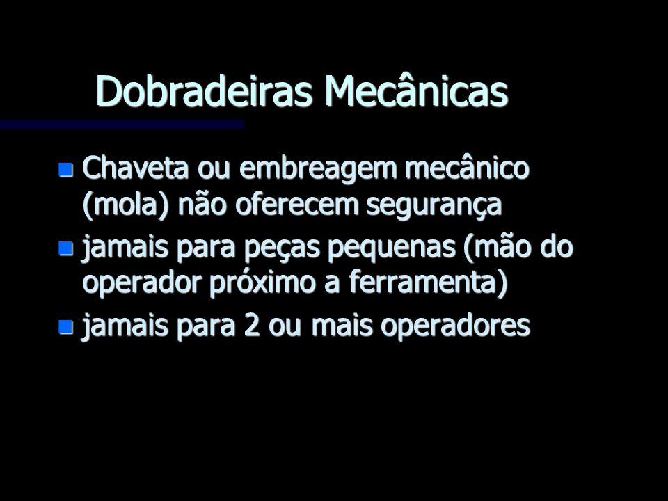 Dobradeiras Mecânicas