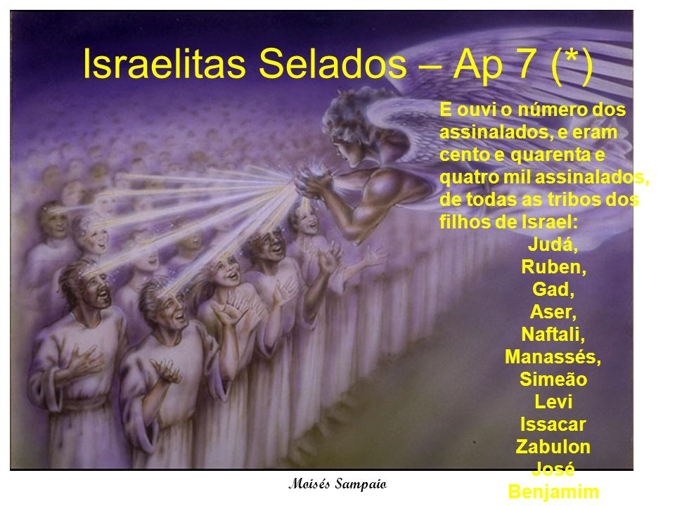 Israelitas Selados – Ap 7 (*)