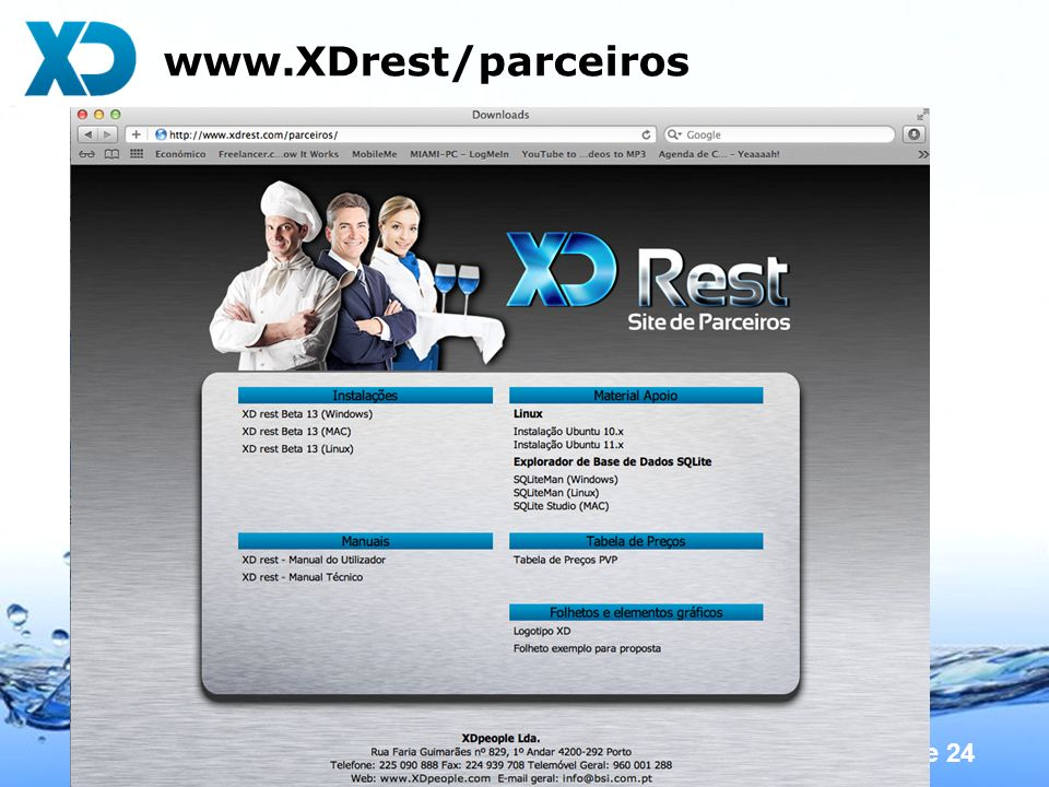 www.XDrest/parceiros