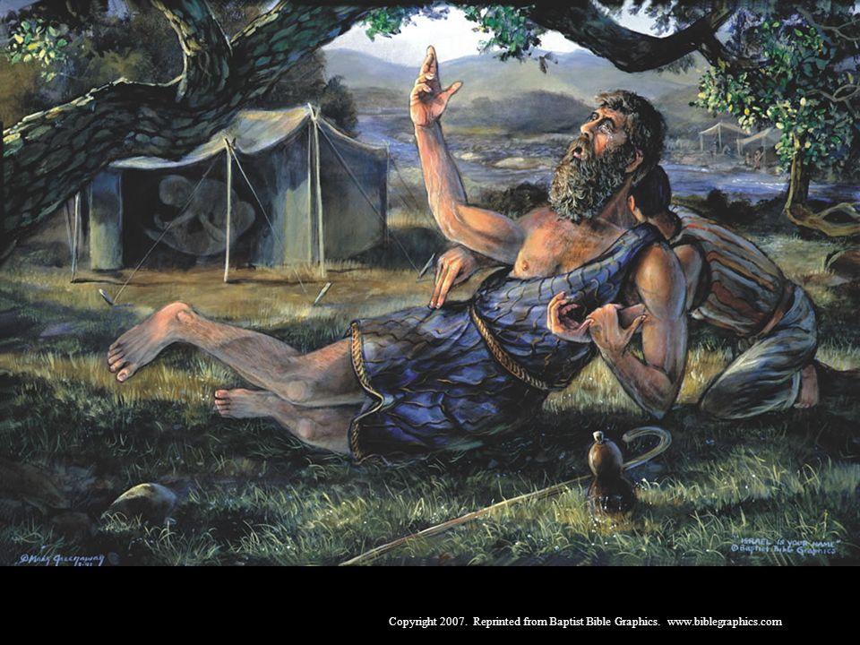 Jacó, Gên. 26-36. Jacó ainda estava no ventre, quando Deus colocou nele um desejo para receber a bênção prometida na Aliança. Jacó lutou com Deus e buscou a bênção com lágrimas. Deus o tocou e garantiu-lhe o que pedira. Deus é onisciente.