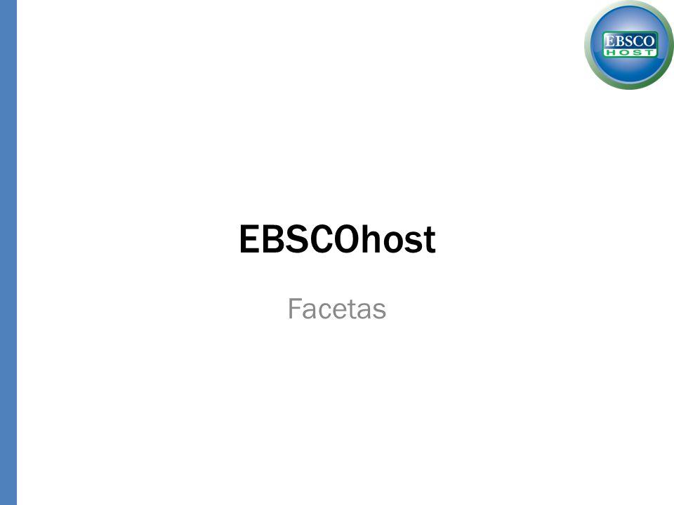 EBSCOhost Facetas