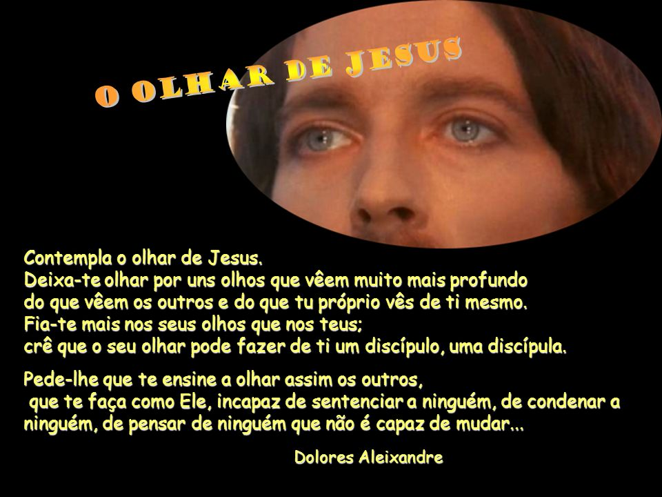 O olhar de Jesus