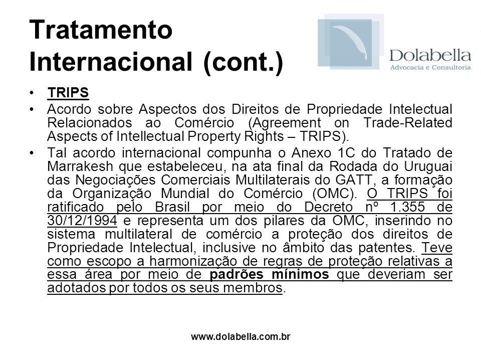 Tratamento Internacional (cont.)