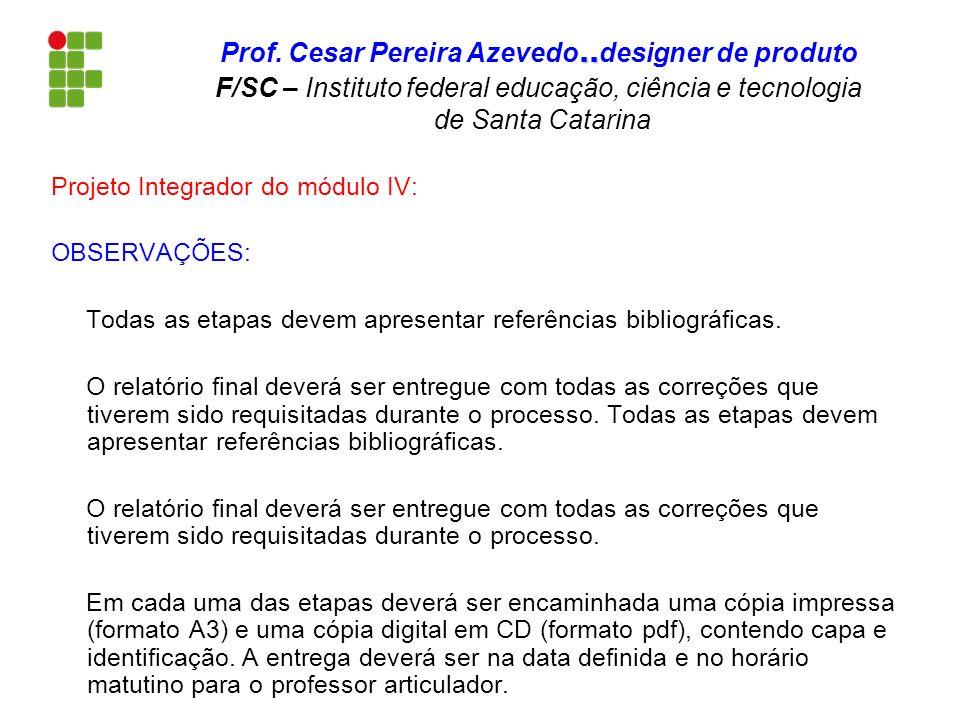 Prof. Cesar Pereira Azevedo
