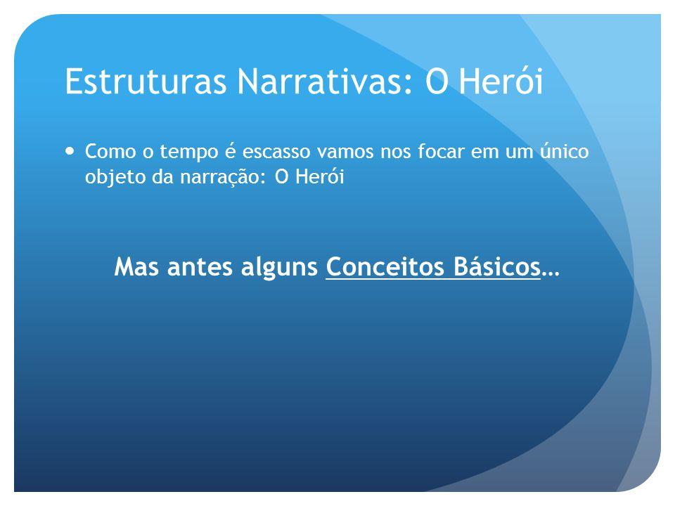 Estruturas Narrativas: O Herói