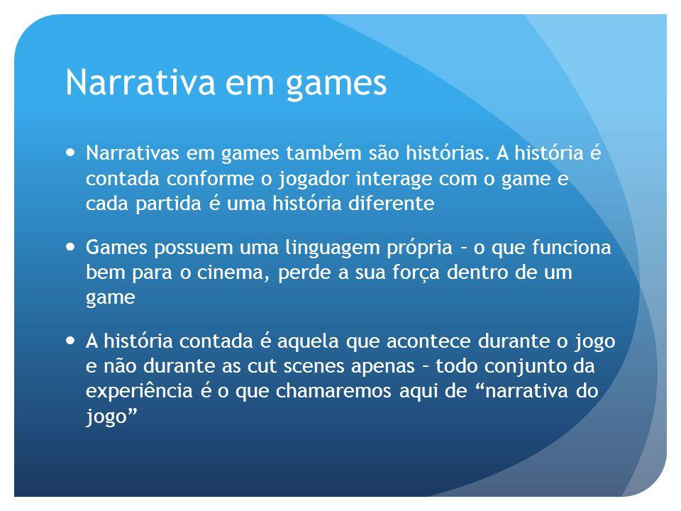 Narrativa em games