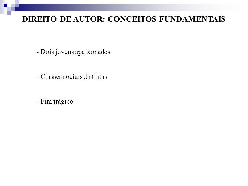 DIREITO DE AUTOR: CONCEITOS FUNDAMENTAIS