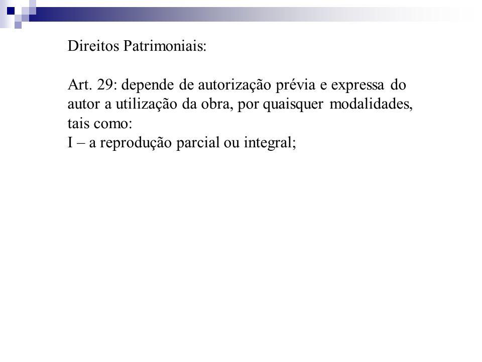 Direitos Patrimoniais: