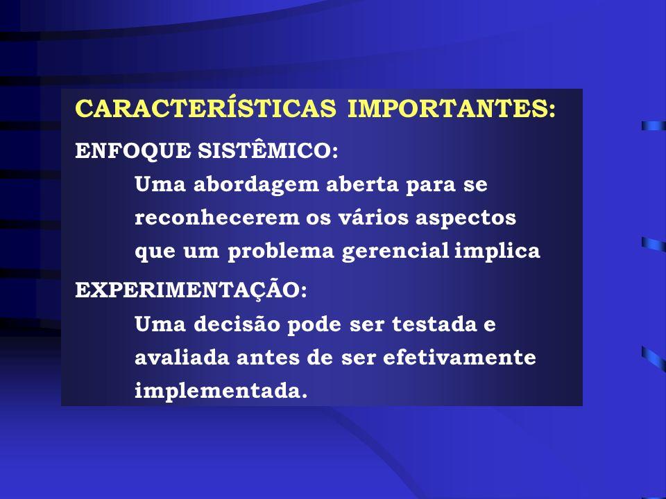 CARACTERÍSTICAS IMPORTANTES:
