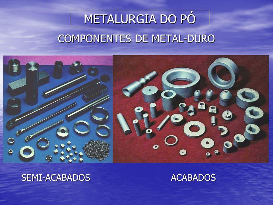 COMPONENTES DE METAL-DURO