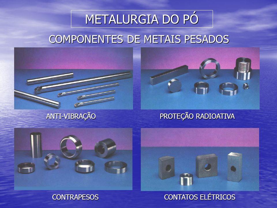 COMPONENTES DE METAIS PESADOS