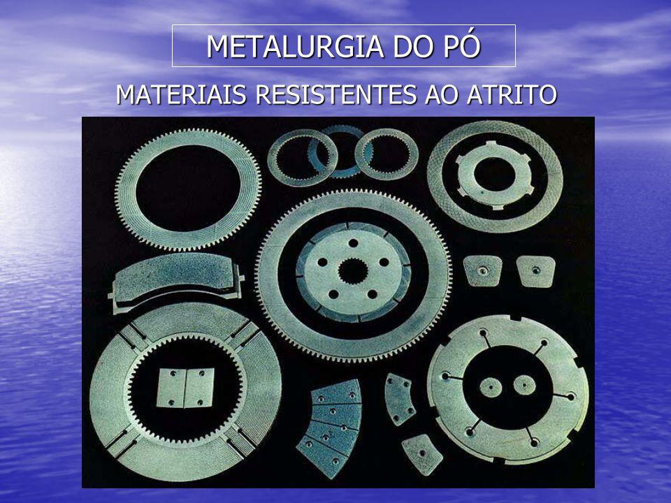 MATERIAIS RESISTENTES AO ATRITO