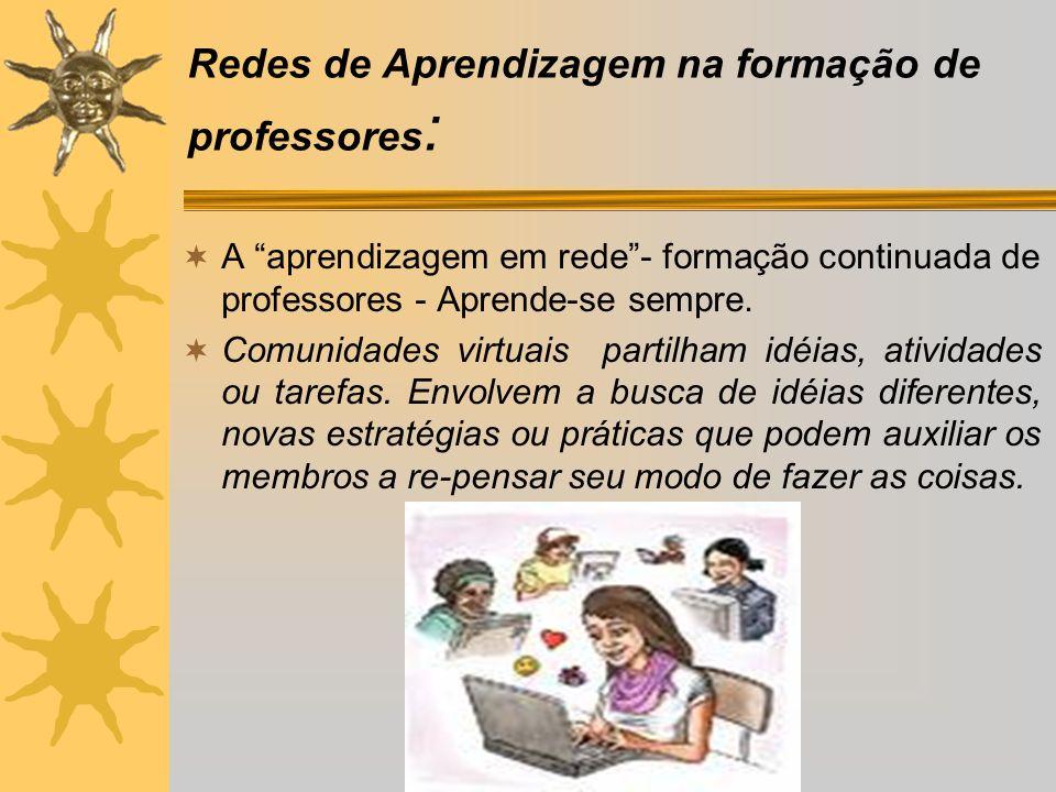 Redes de Aprendizagem na formação de professores: