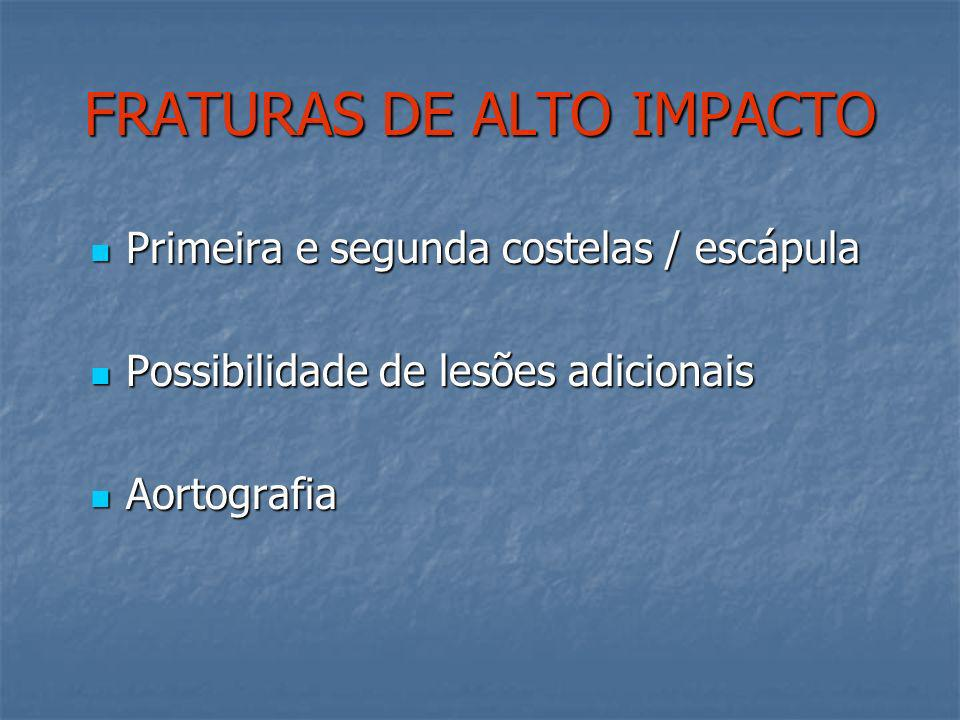 FRATURAS DE ALTO IMPACTO