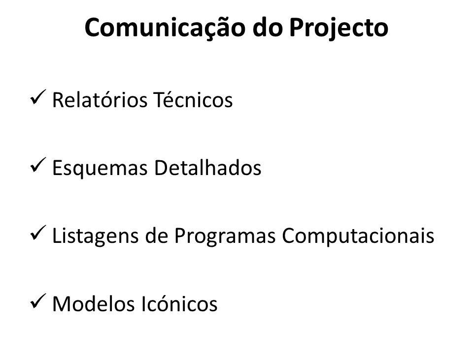 Comunicação do Projecto